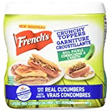 French's, Crunchy Toppers, Pickles, 140 Grams