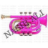 Nasir Ali PoTr-05, Pocket Trumpet, Bb, Pink