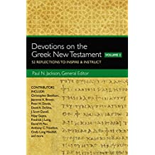 Amazon paul jackson kindle store devotions on the greek new testament volume two 52 reflections to inspire and instruct fandeluxe Choice Image