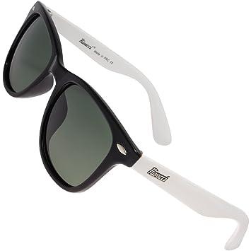 Rivacci Gafas de Sol Polarizadas Hombre Mujer Wayfarer – Marca Retro / Vintage – Lentes Deportivas