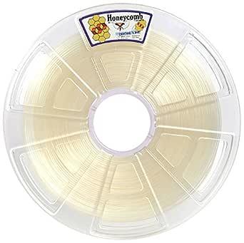 Honeycomb Drone PLA Filament, 1.75-mm Diameter, 1kg / 2.2 lbs Spool, Transparent