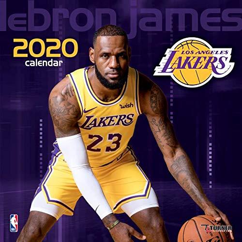 new concept 10d1f 9b31c Los Angeles Lakers Lebron James 2020 Calendar: Inc. Lang ...