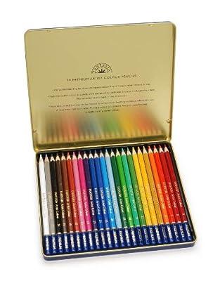 Premium 24 Piece Color Pencil Set
