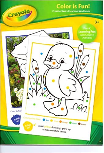Crayola Color Is Fun! (Creative Basics Preschool Workbook ...