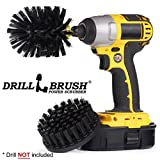 New Quick Change Shaft Ultrastiff Heavy Duty Stone Cleaning Brush by Drillbrush
