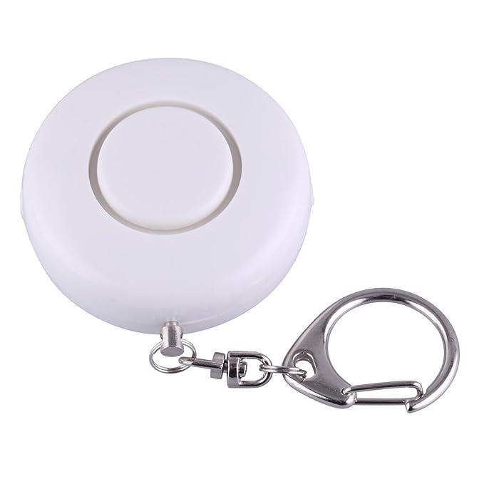 Guard Alarma Personal de 125 dB con Linterna LED, Llavero de ...