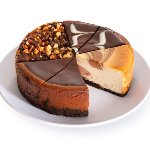- Chocolate Lovers Cheesecake Sampler - 6 Inch
