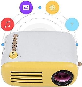 Kafuty Mini Proyector HD 1080P LCD LED Proyector de Video Portátil ...