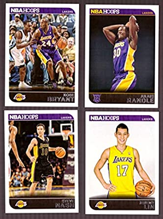 74ef461f352 Amazon.com  2014-15 NBA Hoops - Los Angeles Lakers 9 Card Team Set   Collectibles   Fine Art