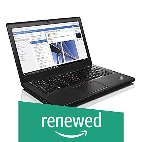 (Renewed) Lenovo Think Pad Intel 6th Gen Core i5 12.5-Inch (31.75 cms) 1920×1080 Laptop (8 GB/500 GB/Windows 10/Integrated Graphics/Black/2.50 Kg), X260