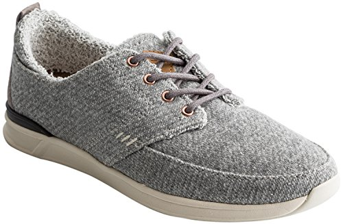 Reef Womens Rover Low Tx Fashion Sneaker Grigio Heather