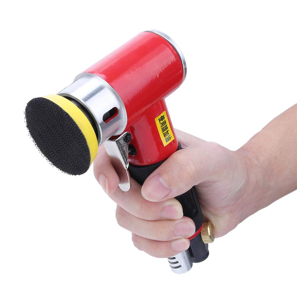 Air Orbital Sander 15000rpm 1//4in Inlet Pneumatic Angle Sander 2in//3in Grinding Polishing for Metal Industry,Furniture Industry,Wood Products,Shipbuilding Industry