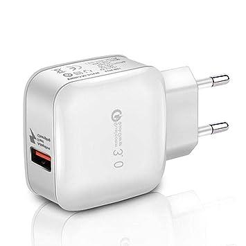 melysEU Cargador de Adaptador de Carga Inteligente USB de ...