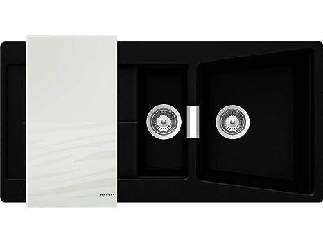 Shock Opus D 150 A W Puro Granit Lavandino Lavello Della Cucina E Del Bagno  Lavandino