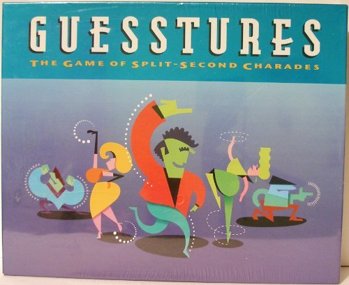 Guesstures - the Game of Split-Second Charades First Edition