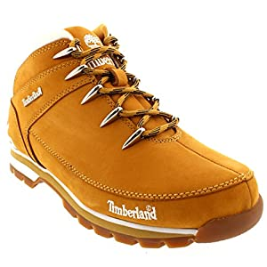 Mens Timberland Euro Sprint Casual Wheat Walking Hiking Ankle Boots - Wheat - 11.5