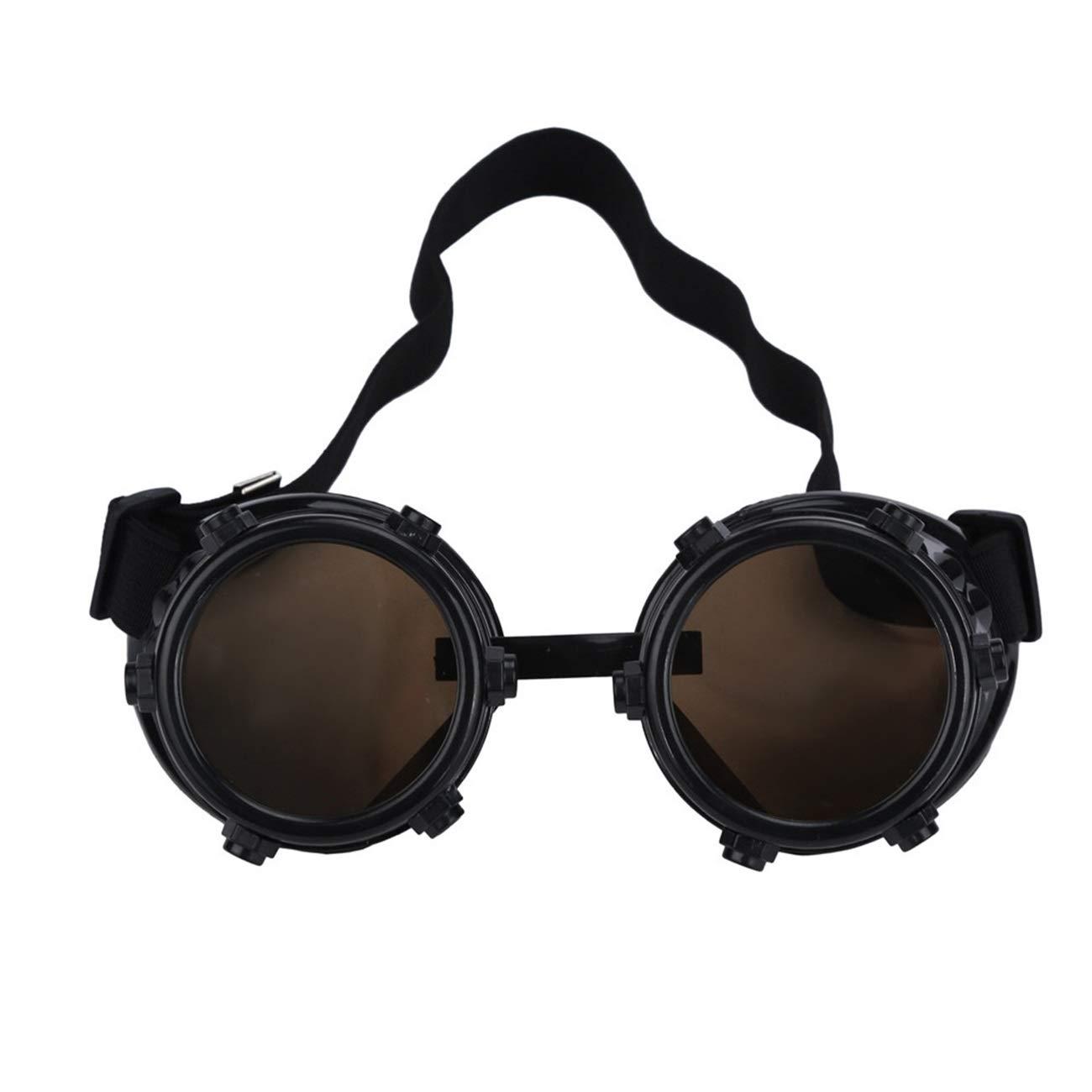 Amazon.com: Bnialaed Unisex Vintage Round Sun Glasses Retro ...