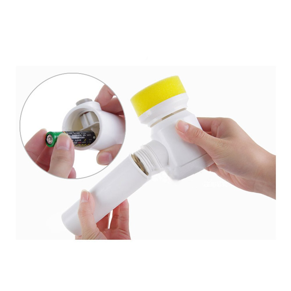Amyove Handhold Electric Cleaning Brush for Bathroom Tile and Tub Kitchen Washing Tool by Amyove (Image #8)