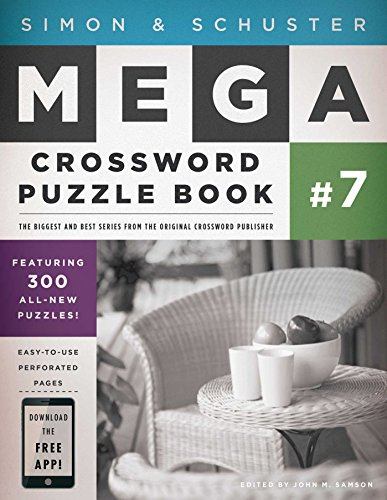 Simon   Schuster Mega Crossword Puzzle Book  7  Simon   Schuster Mega Crossword Puzzle Books