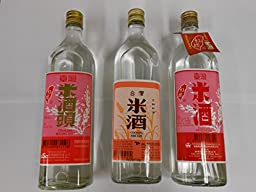 Taiwan Cooking Michiu Mix Pack (3 Bottles)