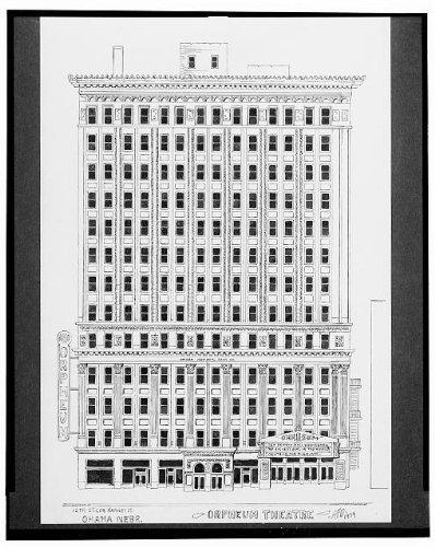(Infinite Photographs Photo: RKO Orpheum, National Bank, Omaha, Nebraska, NE, 1934, Dumas Size: 8x10 (Approximately))