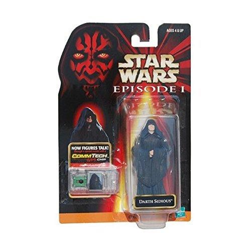 Star Wars Episode 1 Figure Darth Sidious Comm-Tech