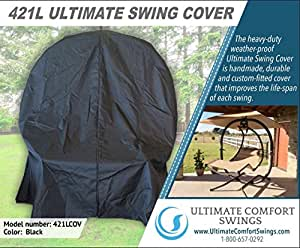 Ultimate Comfort 421L Custom Cover - Made for the Sunset Swings 421L Dual Swing