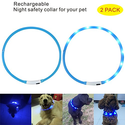 Flashing Rechargeable Luminous Adjustable Waterproof