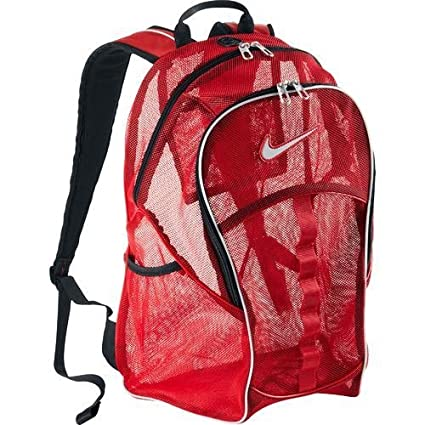 red nike backpack amazon