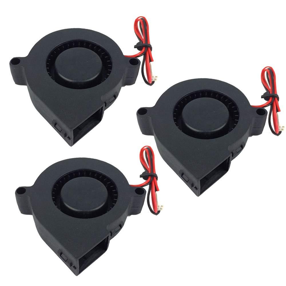 Ventilador Furiga 5015 24v 50X50X15mm Ventilador de refrigeración radial DC sin escobillas Cable de 30 cm para impresora 3D Máquina CNC Disipador de calor 3PCS.