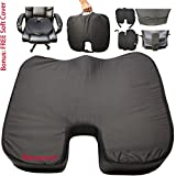 4 Inches Waterproof Coccyx Orthopedic Pressure Sore Relieving - Best Reviews Guide