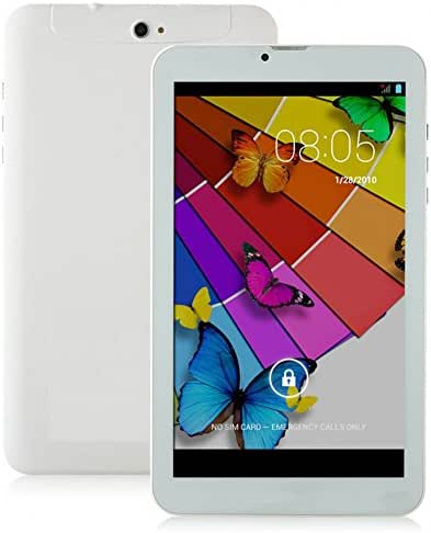 Silver 7 Inch Unlocked Smart Phone +Tablet='' Phablet'' Android 4.2 Gsm - Unlocked Dual Sim Card,dual Core- At&t, ,T-mobile,h20,net10 3g Phone Tablet 2015 Newest 7