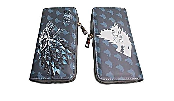 Game of Thrones House Stark Hand Purse Zip Around Clutch Wallet