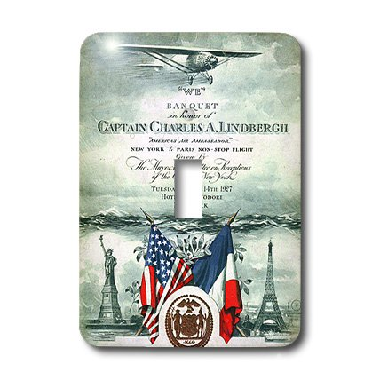 3dRose lsp_174577_1 Image of Special Invitation for Lindbergh Light Switch -
