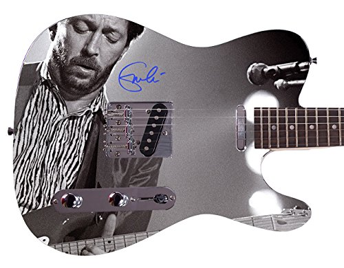 Eric Clapton Autographed Signed Custom Graphics Guitar