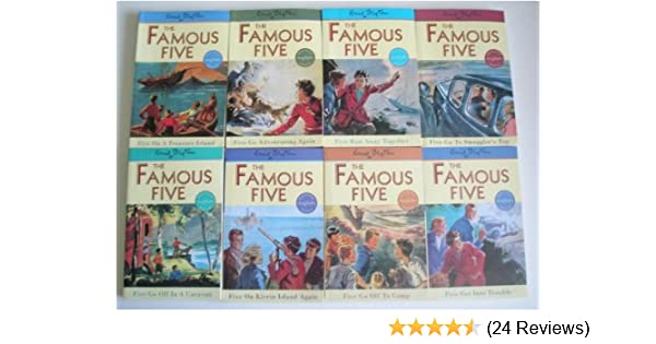 Five Go Off In A Caravan (Famous Five Book 5)