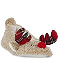 Women's Christmas Reindeer Slippers