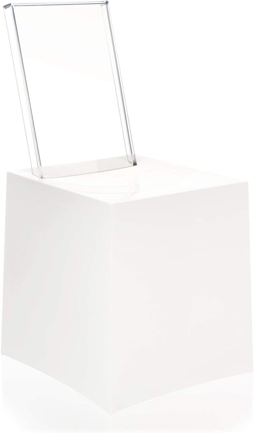 Kartell Miss Less Silla, Blanco, 42x85x45 cm: Amazon.es: Hogar