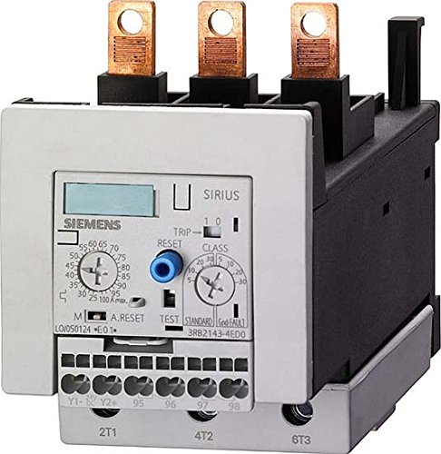 Siemens 3RB21 43-4EX1 Solid State Overload Relay, Spring ...