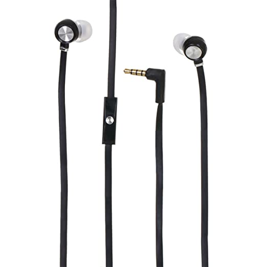 Fone de Ouvido Intra-auricular Com Microfone Turbo Bass Preto Lendex Ldfob24pr