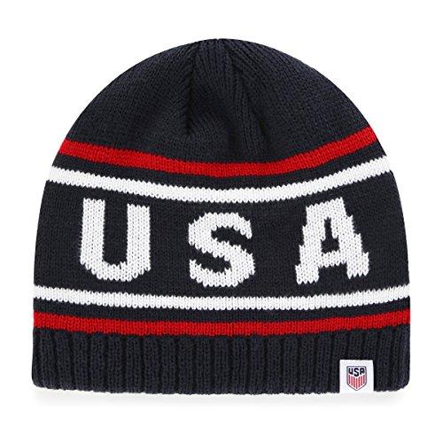 OTS World Cup Soccer Mens Thorsby Beanie Knit Cap