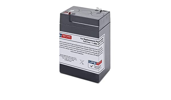 Genesis NP4.5-6 6V 4.5Ah Sealed Lead Acid Replacement Battery