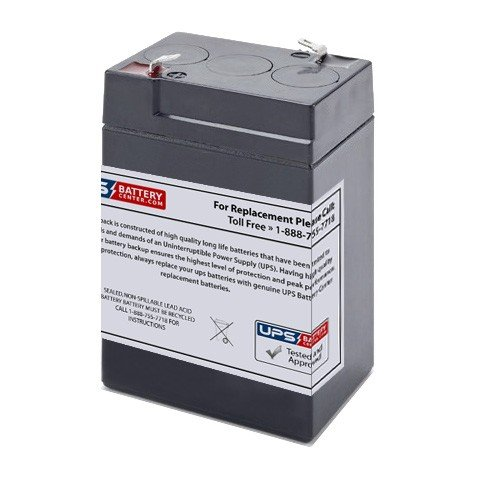 Gaston GT6-4.5 6V 4.5Ah F1 Replacement Battery