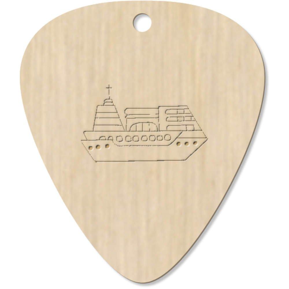 7 x 'Kreuzfahrtschiff' Plektrum / Picks (GP00016791) Azeeda