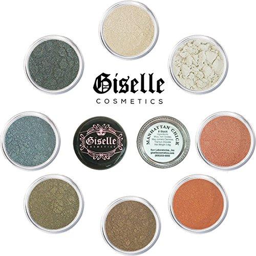 Discount Makeup By Giselle Manhattan Chick 8 Stack (Estee Bronze Matte Bronzer)