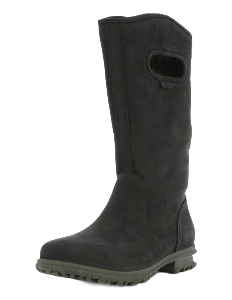 Bogs Women's Betty Tall Black Boot 10 B (M) by Bogs