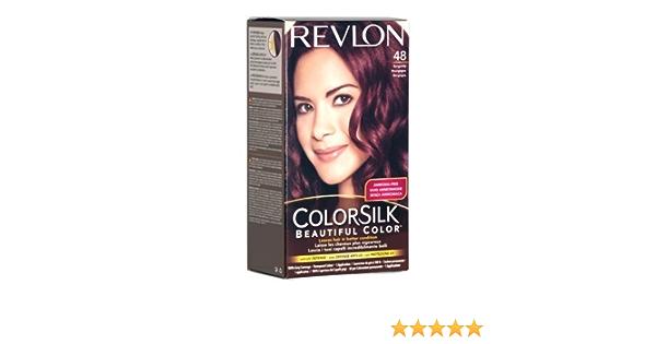 Revlon Colorsilk Beautiful número 48 Color de pelo, Borgoña