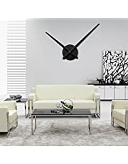 URAQT Orologio da Parete Moderno, Modern Wall DIY 3D Orologio da Parete per Casa Ufficio Hotel Ristorante