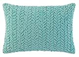 Company C Braided Velvet 14'' x 20'' Throw Pillow, Lake
