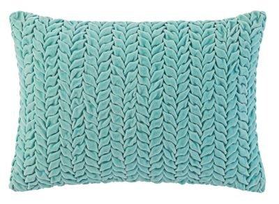 Company C Braided Velvet 14'' x 20'' Throw Pillow, Lake